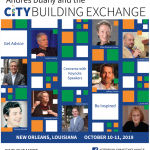 CityBuilding Exchange in New Orleans, Thursday-Friday, October 10-11, 2019